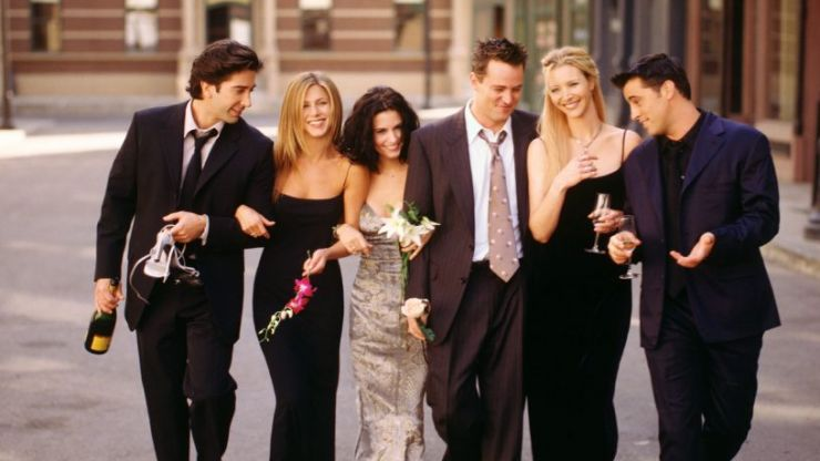 The nation's favourite Friends character has been revealed