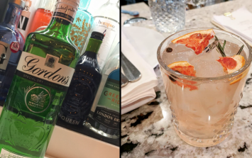 You can get a free gin and tonic if your journey home is delayed tonight