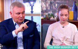 WATCH: Eamonn Holmes criticised for insensitive questioning of 12-year-old girl who lost her mum