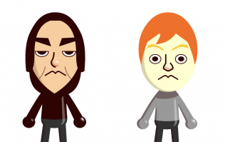 Here's what the Harry Potter cast would look like as Mii characters