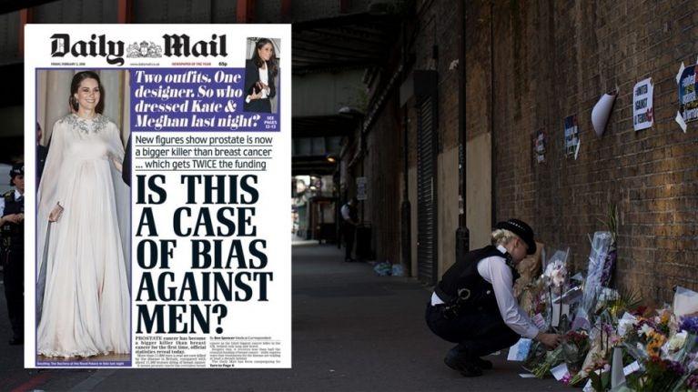Man found guilty of terrorist attack, read the report on page 10 of the Daily Mail