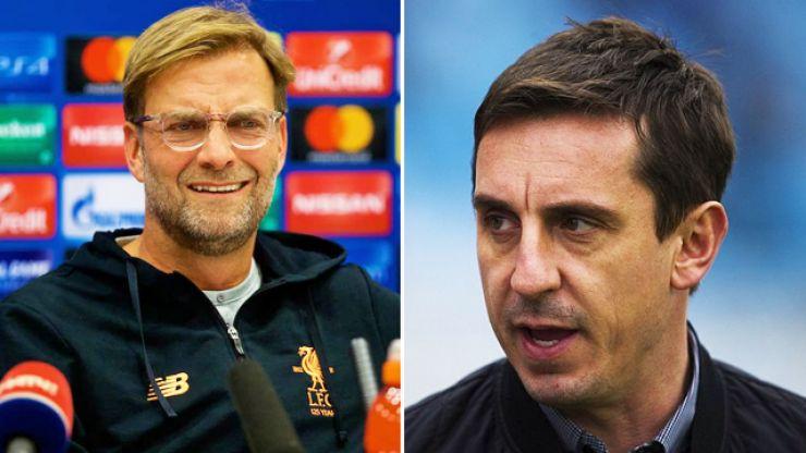 Jurgen Klopp defends Liverpool's January business following criticism from Gary Neville