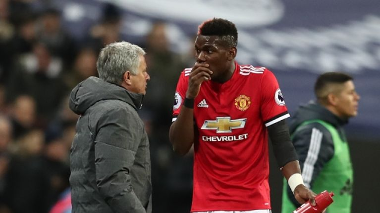 Image result for Jose Mourinho with pogba