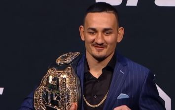 Max Holloway out of UFC 222 headliner with injury
