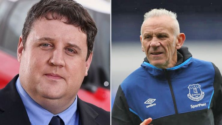 Poor Peter Reid falls for internet hoax and announces Peter Kay has died (he hasn't)