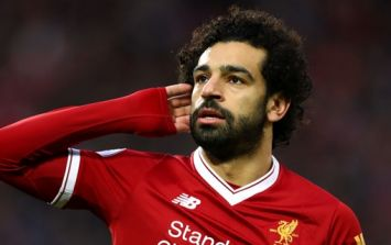 Mohamed Salah overcomes frustration to fulfil young Liverpool fan's request
