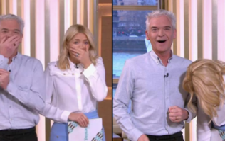 Phillip Schofield messes up and blurts out 'd*ck' live on air