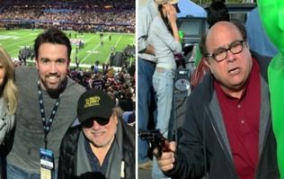 The Always Sunny cast had more fun at the Super Bowl than Frank tripping balls on acid