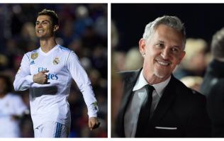 Gary Lineker reveals the three forwards he rates above Cristiano Ronaldo