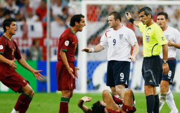 Wayne Rooney reveals what he said to Cristiano Ronaldo after 2006 World Cup red card