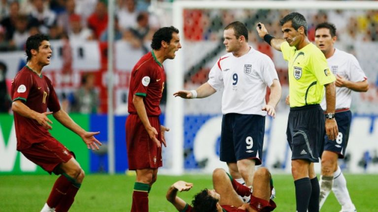 Wayne Rooney Reveals What He Said To Cristiano Ronaldo After 2006