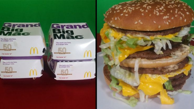 You can now make a 'Grand Monster Mac' at McDonald's