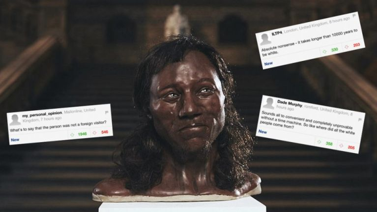 News that 'Original Briton' was black has Daily Mail readers raging