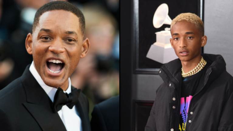 Will Smith just absolutely rinsed his son Jaden on Instagram