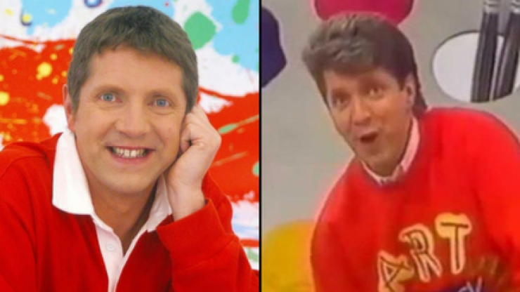 Art Attack presenter Neil Buchanan is now in a metal band and looks unrecognisable