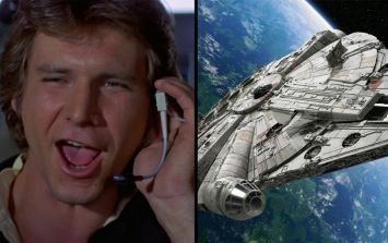 Someone has spotted the Millennium Falcon on Google Earth outside Longcross Studios