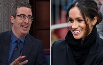 John Oliver slams the Royal Family and warns Meghan Markle about what she's marrying into
