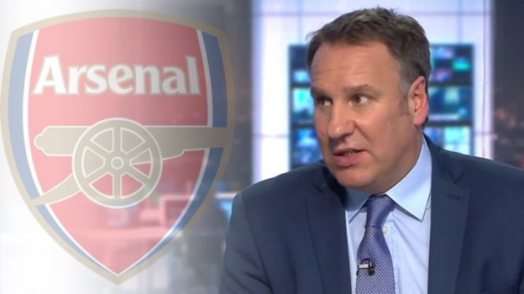 Paul Merson's pick for the next Arsenal manager is an out-there one
