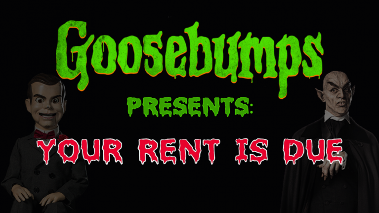 Goosebumps books, except they tackle the horrifying stress of being an adult