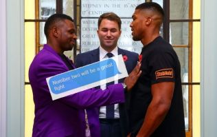 Anthony Joshua texting Eddie Hearn at all hours, is obsessed with former foe