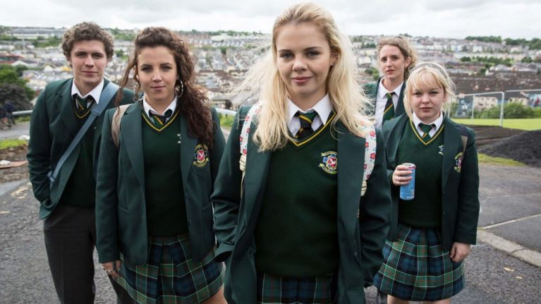 Derry Girls' Clare and Erin accidentally found themselves with the most perfect Uber driver
