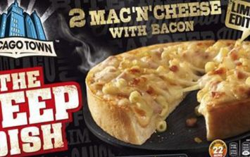 Chicago Town have launched a £1 mac and cheese pizza