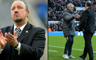 Rafa Benitez has revealed what Jose Mourinho said to him after beating Manchester United