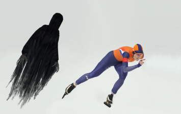 The Winter Olympics are more impressive if you add Dementors chasing the competitors