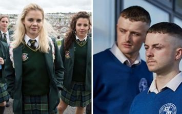 The Young Offenders would love to see a crossover with Derry Girls