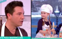 Gino D'Acampo rants at children on This Morning after they admit to liking pineapple on pizza