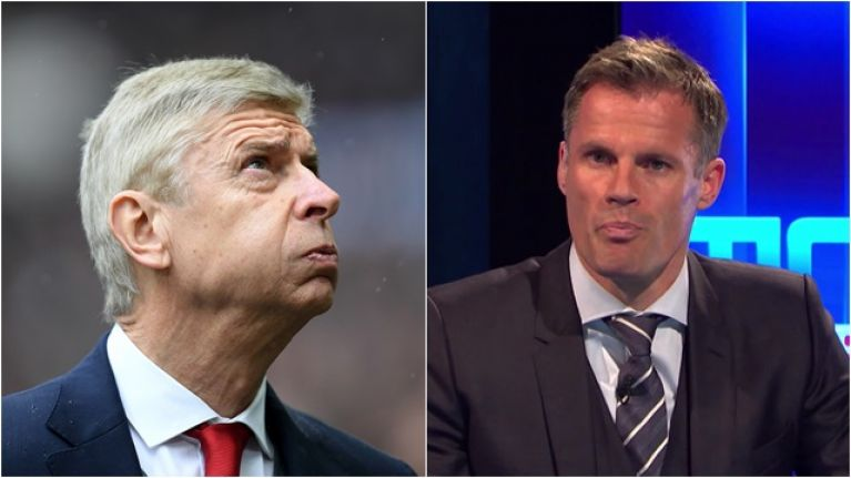 Jamie Carragher brands Arsenal an embarrassment