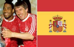 Spain have basically stolen Liverpool's 90s look for their new World Cup kit