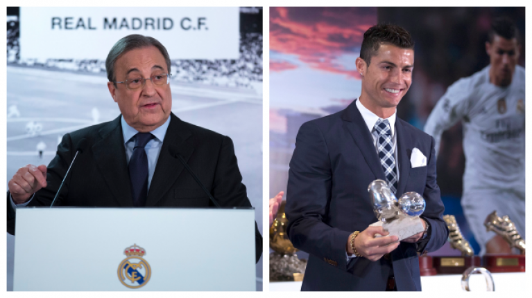 Real Madrid president knew precisely how to get Ronaldo to stay when he threatened to leave