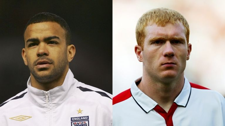 "Kieron Dyer reveals Paul Scholes was given a ""guard of honour"" after England training session"