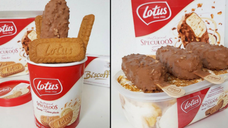 Biscoff ice cream is a thing that exists and the internet is going wild for it
