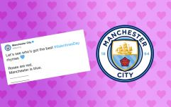 Manchester City's request for Valentine's Day poems goes as badly as you'd expect