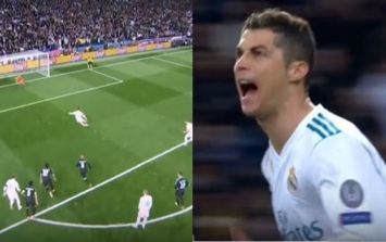 WATCH: Cristiano Ronaldo scores penalty on the volley against PSG