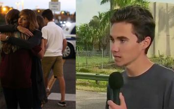 """17-year-old Florida shooting survivor makes powerful plea to """"take action"""" over America's gun control laws"""