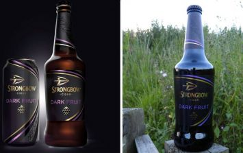 Fasten your seatbelts, Strongbow are making massive kegs of their Dark Fruits cider