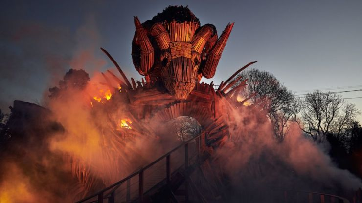 Alton Towers have released photos of their new rollercoaster and it looks incredible
