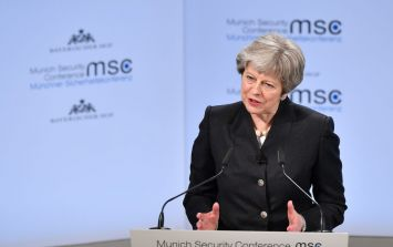 Theresa May has some bad news for those hoping for a second Brexit referendum