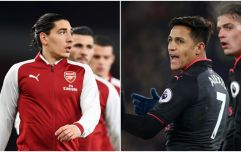 Hector Bellerin explains why he didn't celebrate Alexis Sanchez's goal against Crystal Palace