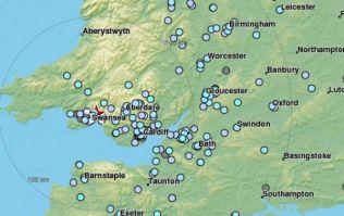 Earthquake hits England and Wales