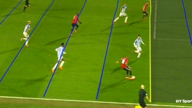 People Are Going Mad Over Wobbly Lines After Var Decision