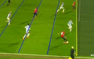 People are going mad over wobbly lines after VAR decision rules out Juan Mata goal