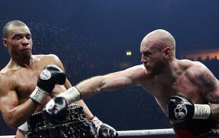 Chris Eubank Jr suffers nasty cut during loss to George Groves