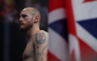 George Groves may have dislocated his shoulder during victory over Chris Eubank Jr