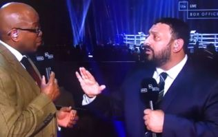 Naseem Hamed slaughters Chris Eubank Jr after loss to George Groves, tells him to retire