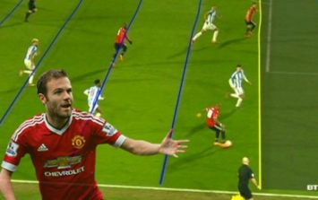 Hawkeye releases statement on Juan Mata offside decision