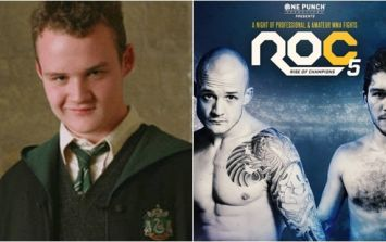 Former Harry Potter actor gets hand raised in latest MMA bout